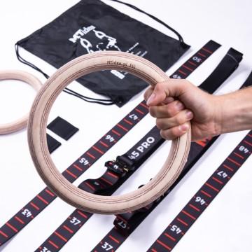 Poręcze drewniane 90 cm